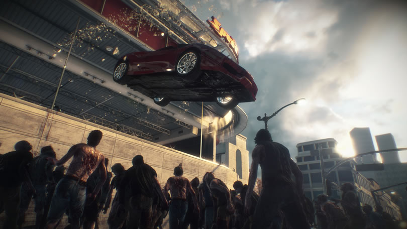 Dead Rising 3 vehicle screenshot