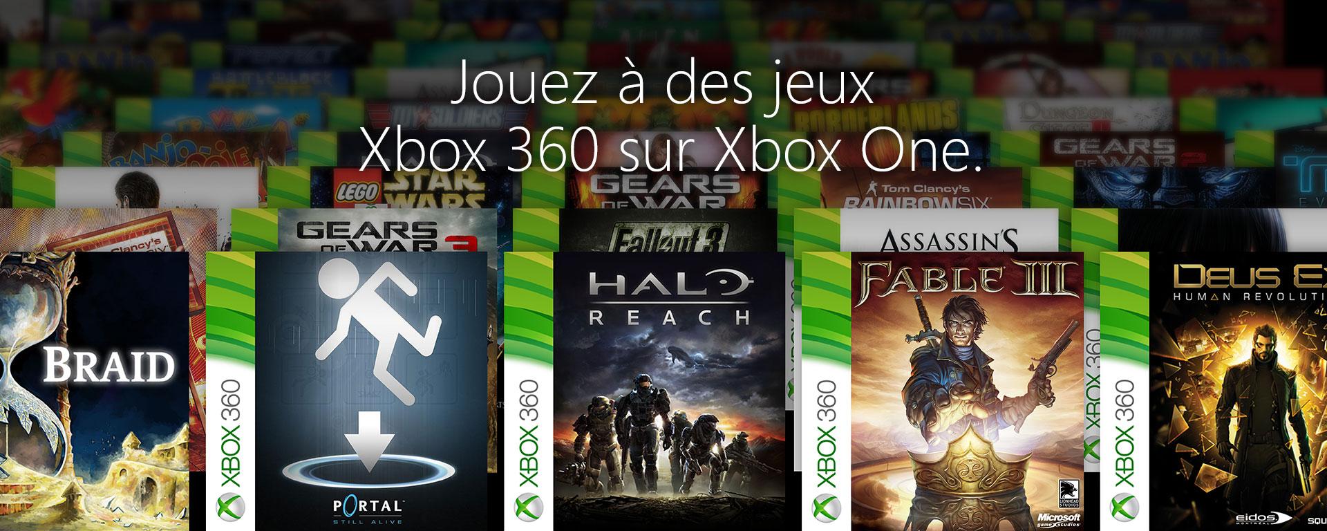 La rétrocompatibilité sur Xbox One est arrivée
