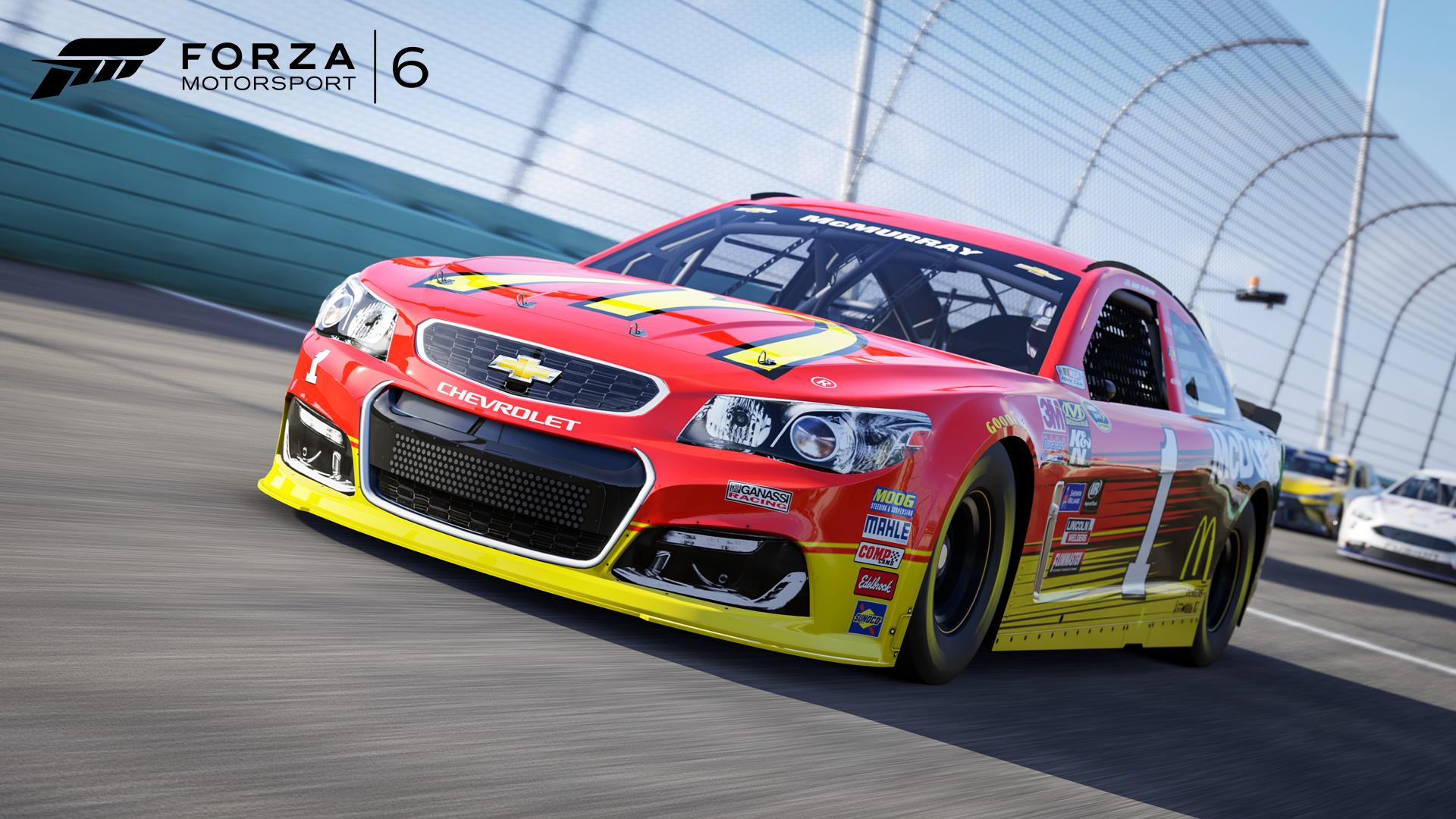 Forza Motorsport - Forza Motorsport 6 NASCAR Expansion
