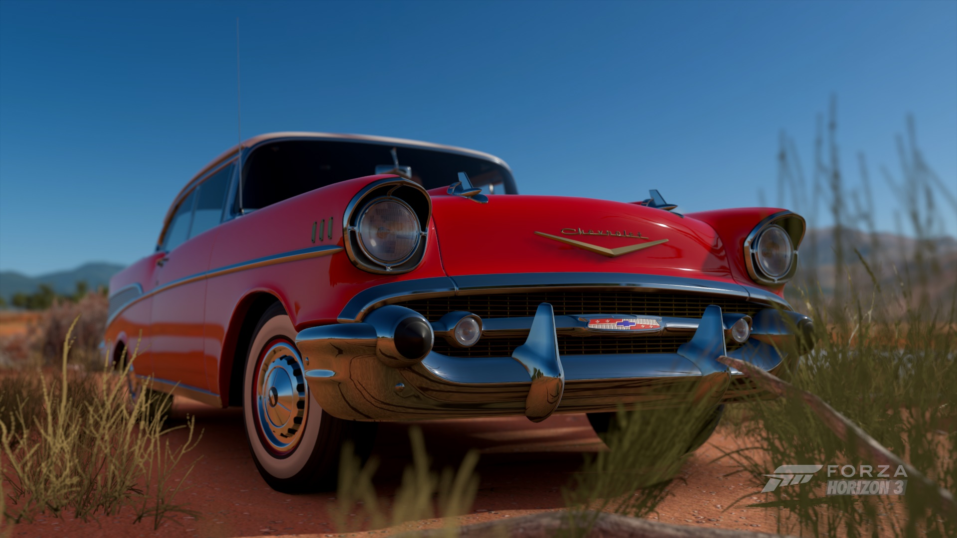 Forza Horizon 3 Cars 57 Chevy Bel Air Rear Bumper 1957 Chevrolet Photo By Ninetyninexx