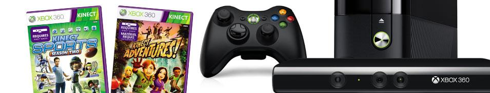 Xbox 360 4 GB Kinect Sports Bundle