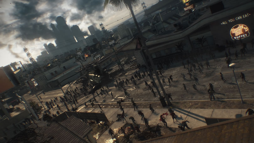Dead Rising 3 horde screenshot