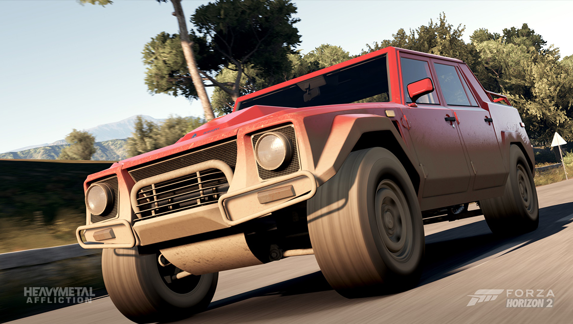 Forza Motorsport - Heavy Metal Affliction - 1986 Lamborghini LM002