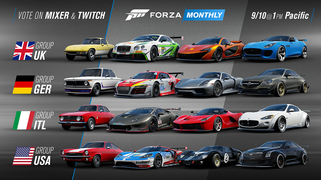 Forza Motorsport Forza Week In Review 9 7 18