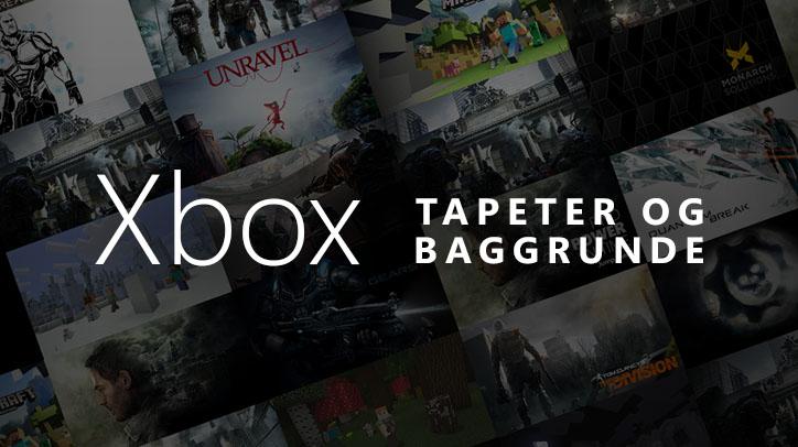 Gratis tapeter og baggrunde til Xbox