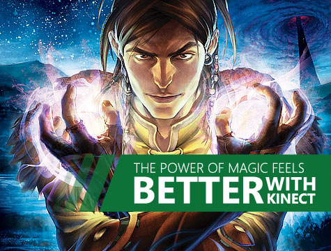 The Power of Magic Feels Better with Kinect
