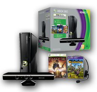 Xbox 360® 250GB Kinect Spring Value Bundle