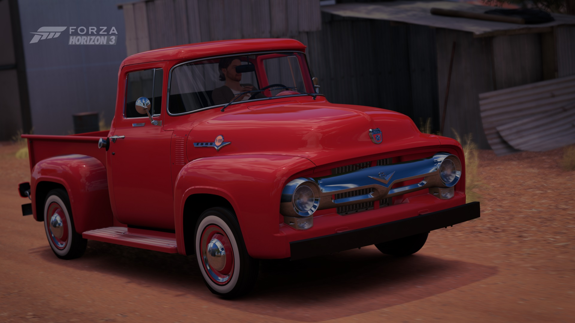 Forza Horizon 3 Cars 1955 Ford F100 Pickup Truck Gas Pedal 1956 F 100 Photo By Receptor 17