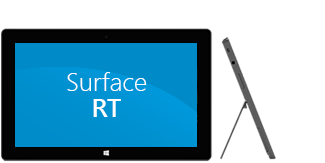 Surface RT front and side