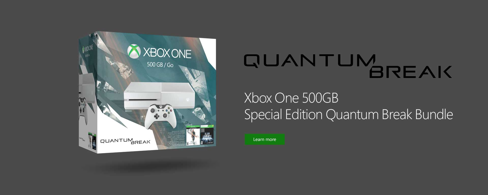 Xbox One Quantum Break Console Bundle