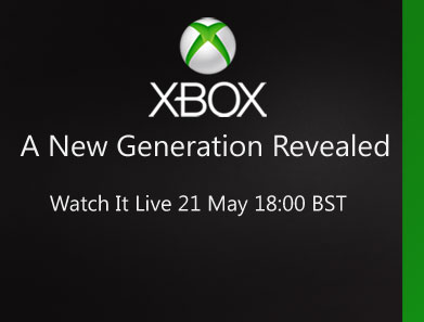In diretta su xbox.com  alle 19.00 - A New Generation Revealed - 21 maggio, ore 19.00