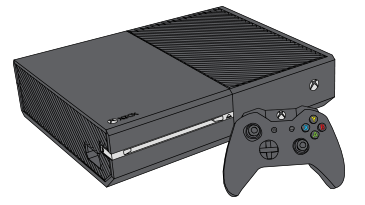 The Xbox One console and controller