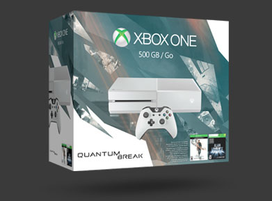 Xbox One 500GB Special Edition Quantum Break Bundle - BUY NOW