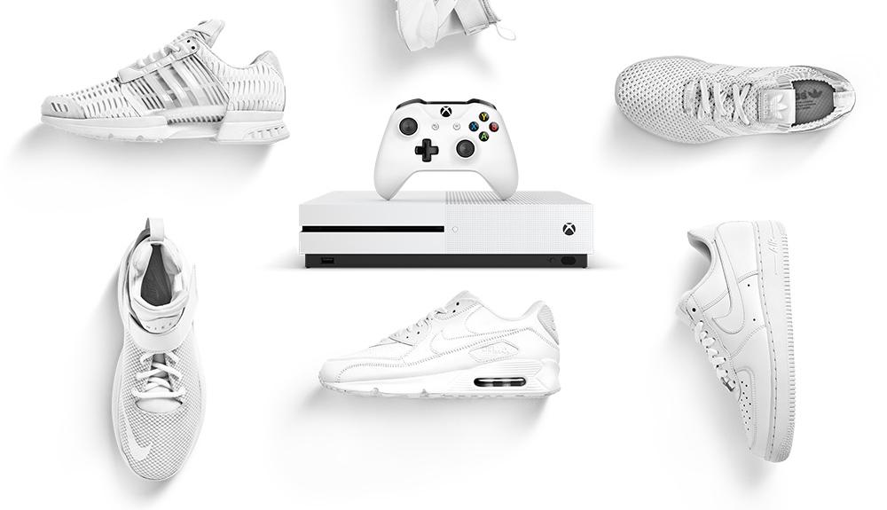 Gewinne mit Foot Locker eine brandneue Xbox One S.