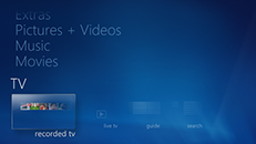 Windows 7: Konfigurere Windows Media Center med Xbox 360