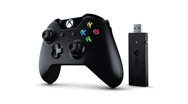 Manette Xbox One Controller et Wireless Adapter pour Windows 10