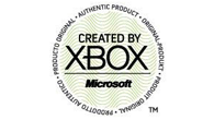 The Microsoft 'Created by Xbox' logo