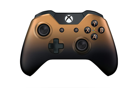 Xbox One Special Edition Copper Shadow Wireless Controller