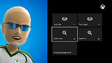Usar um item de avatar no Xbox One