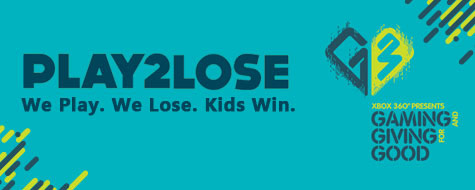 Play2Lose: We Play. We Lose. Kids Win.