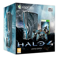 Xbox 360® Limited Edition Halo® 4 -konsoli