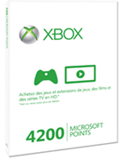 4200 Microsoft Points Xbox Live