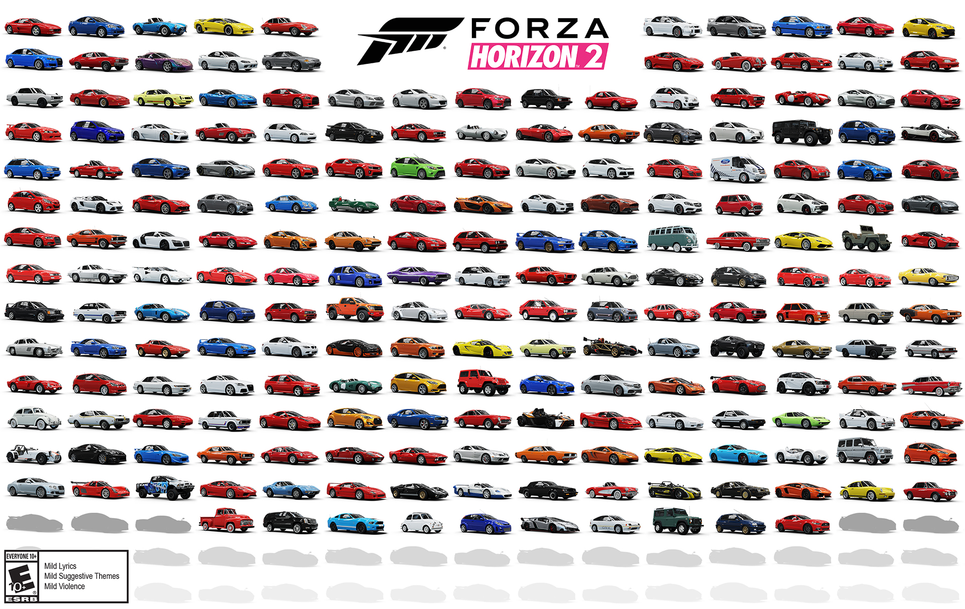 Forza Horizon 2 Cars List Revealed 1