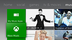 Media streamen met Groove, Films en tv of Windows Media Player met Xbox 360
