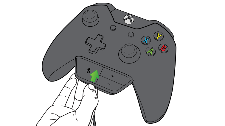 An arrow in an illustration emphasizes plugging the headset controls into the controller.
