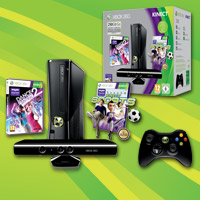 Holiday Value-pakke med Xbox 360® 250 GB og Kinec