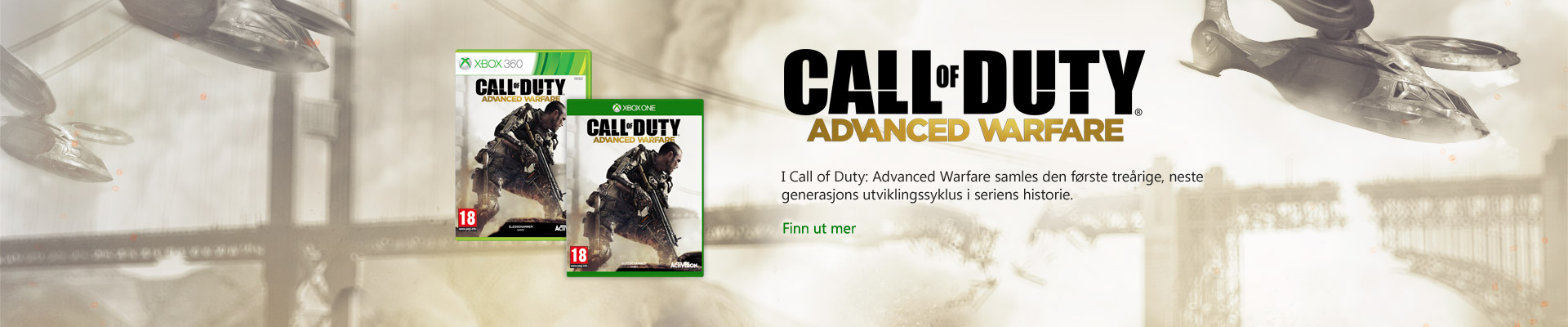 cod-advanced-warfare for Xbox One