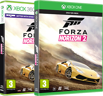 Forza Horizon 2 on Xbox One and Xbox360