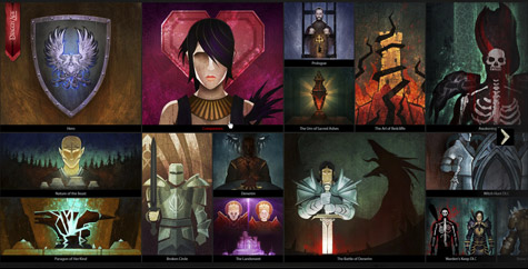 Dragon Age Keep app screenshot