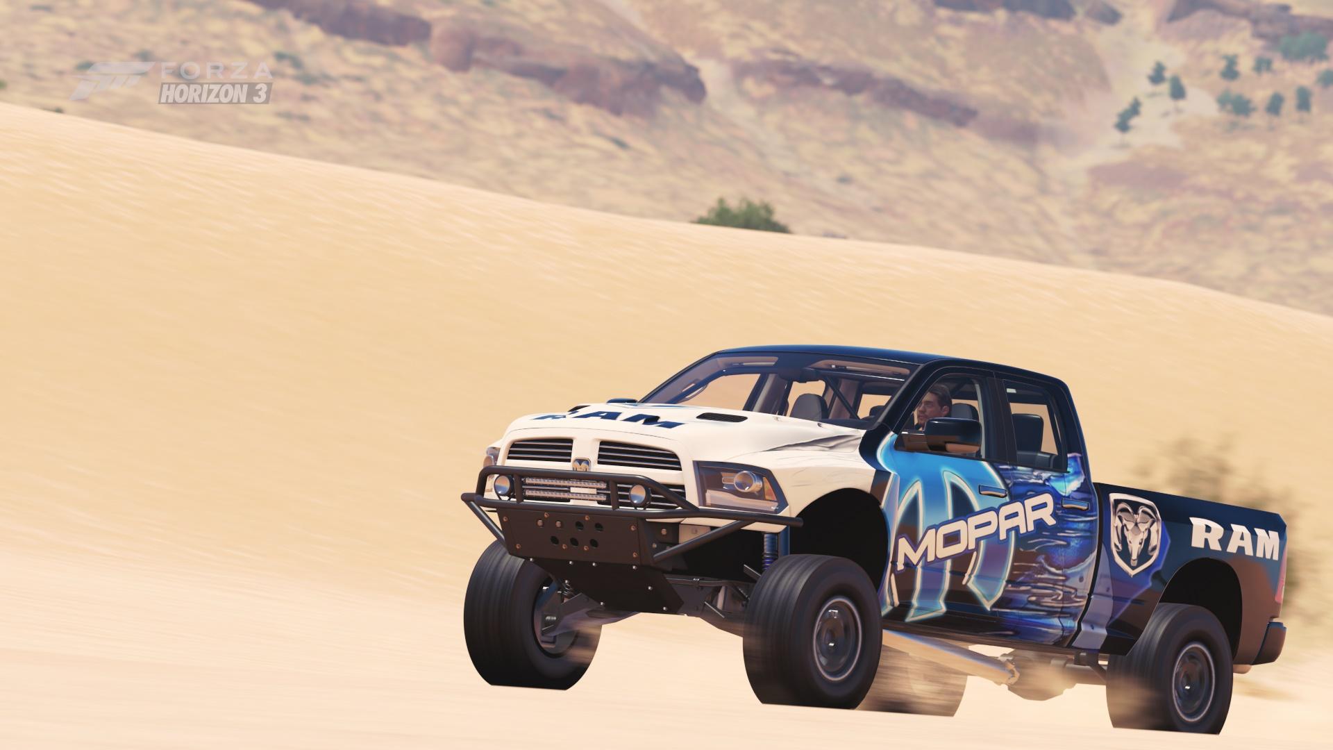 Dodge Ram Runner >> Forza Horizon 3 Cars