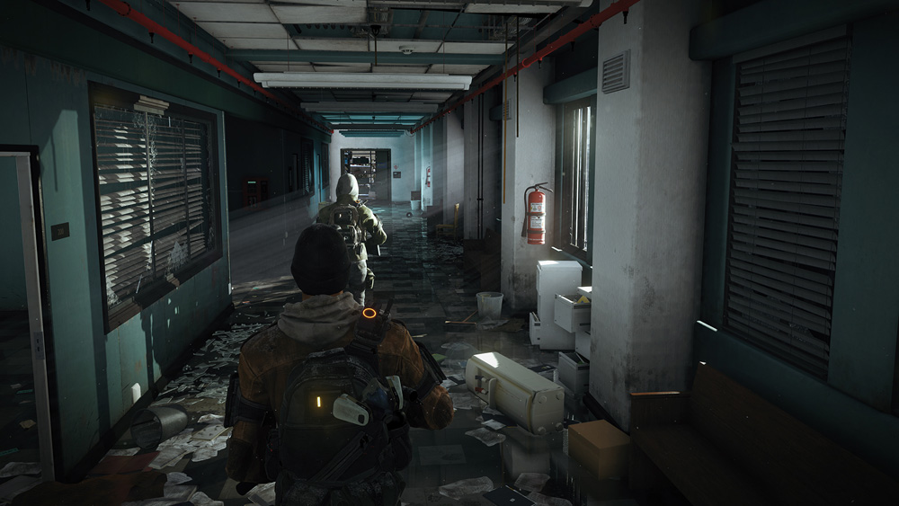 Tom Clancy's The Division: incendios