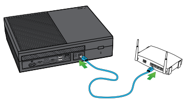 Connect the console directly to your router or modem.