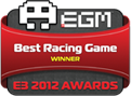 EGM Best Racing Game e3 2012 Awards