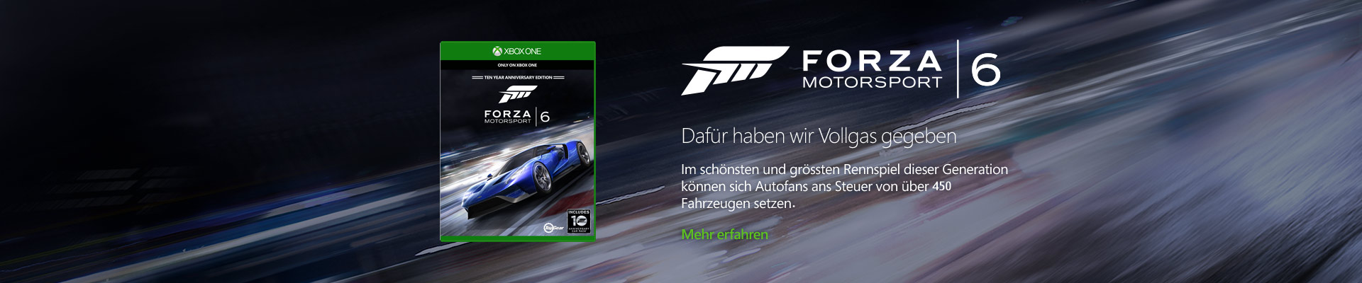 Forza 6 game
