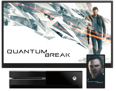Quantum Break wallpaper screen
