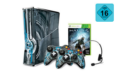 Xbox 360® Limited Edition Halo® 4 Konsole