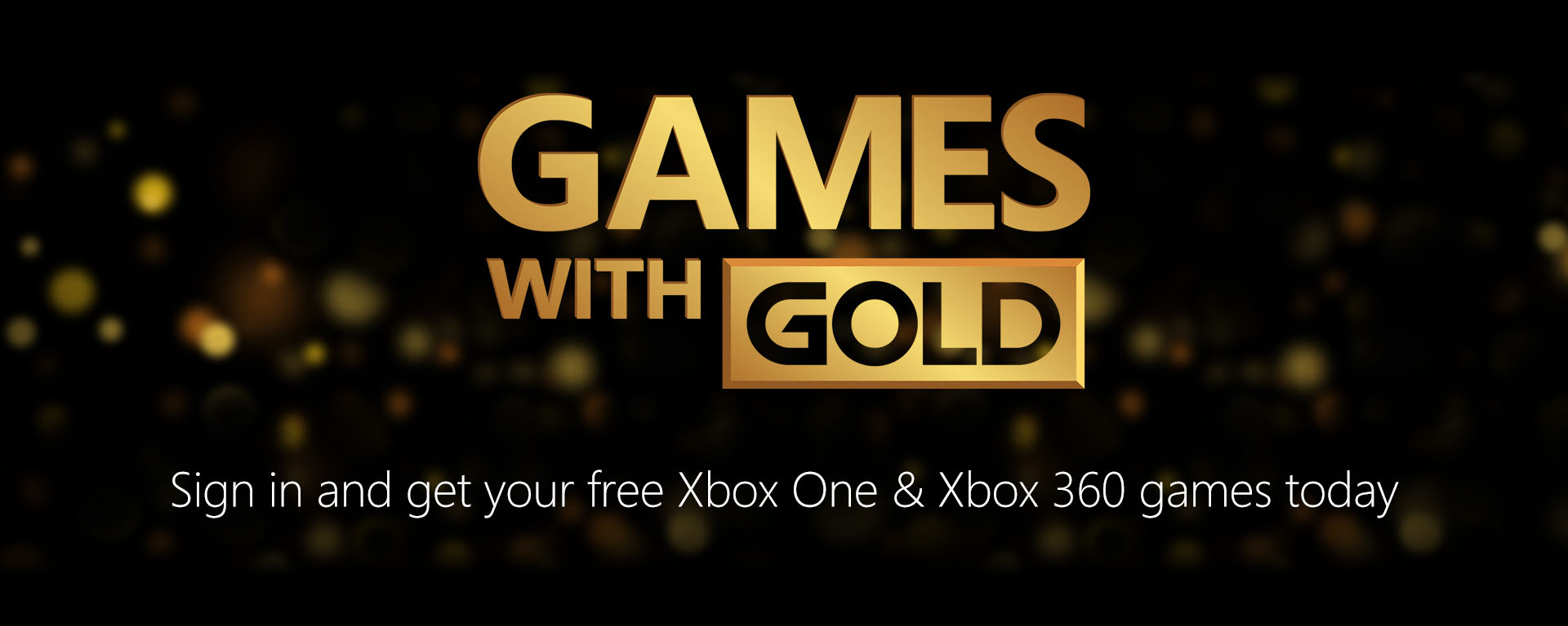Xbox Live Gold   Games with Gold    Free games