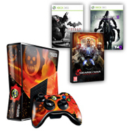 250GB Xbox 360® with Gears of War: Judgment skin and 3 games