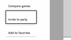 You can't switch to party chat on Xbox One