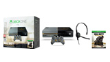 Call of Duty: Advanced Warfare Bundle box shot, console, chat headset, and digital content download
