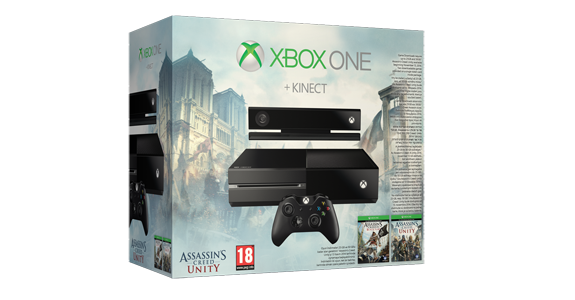 Balík Assassin's Creed Unity pre Xbox One so senzorom Kinect