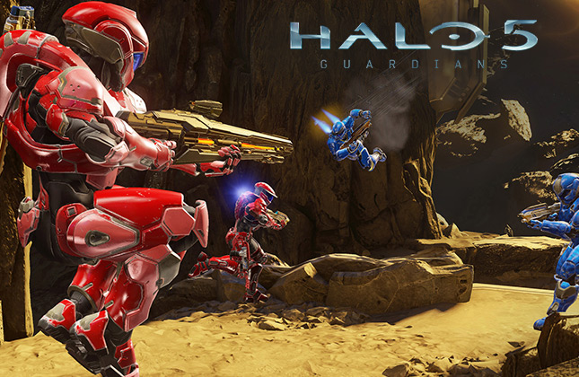 Halo 5: Guardians Ghosts of Meridian