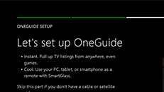 Set up live TV with your Xbox One