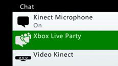 Xbox Live Parties
