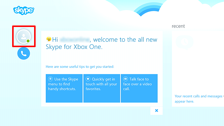 how to delete skype account on xbox one