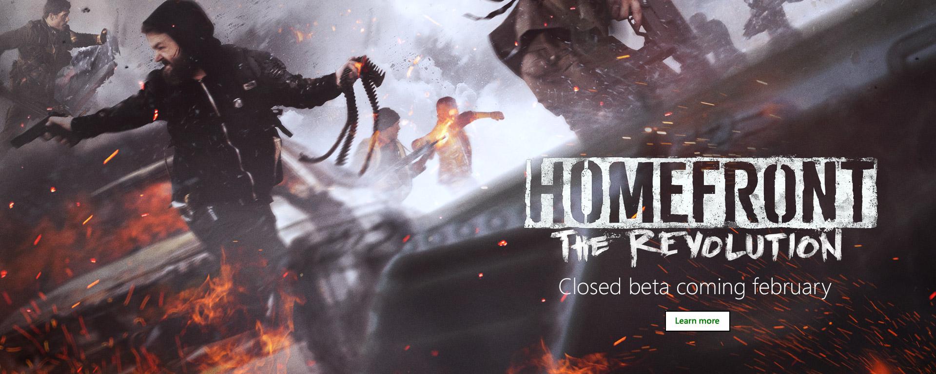 Homefront Revolution Beta on Xbox One